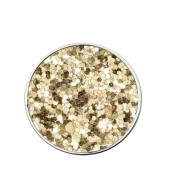 Mucho Champagne Glitter Disc Small Coin (25186)