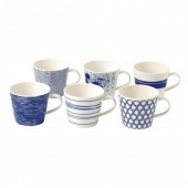 Pacific Assorted Mugs - Set of 6 (25238)
