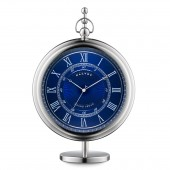 Grand Sedan Clock and Stand in Blue (25298)