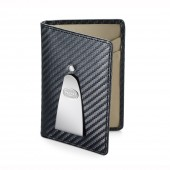 Continental Credit Card & Money Clip - Black (25309)