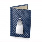 Continental Credit Card & Money Clip - Navy (25310)