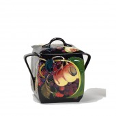 Moorcroft Pottery Covered Handled Box - 15cm (25463)