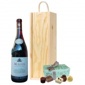 Drinking Gifts French Red Wine and Chocolates (2558)