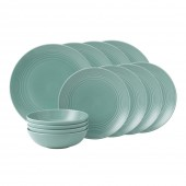 Royal Doulton Teal Dinner Set  - 12 Piece (25663)