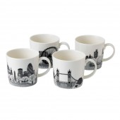 London Calling Mugs - Set of 4 (25703)