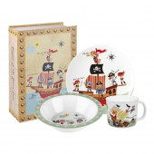 Churchill & Queens China Melamine Set - 3 Piece (25792)