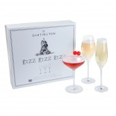 Dartington Fizz, Fizz, Fizz Champagne Glasses Set (25861)