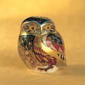 Royal Crown Derby Little Owl (2593)