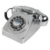Wild and Wolf 746 Classic Phone - Chrome (26000)