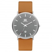 Danish Design Mens Grey Dial Stainless Steel Watch Q27Q1157 (26064)