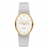 Danish Design Danish Design Ladies Oval Two Tone Stainless Steel Watch V65Q1168 (26067)