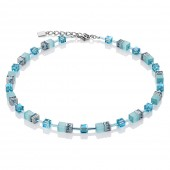 Coeur de Lion Aqua Necklace (26070)