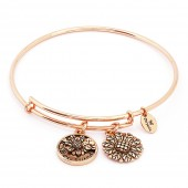 Best Friend Rose Gold Plated Bangle (26108)