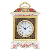Royal Crown Derby Mantel Clock (2611)