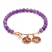 Tranquility Transformation Amethyst Expandable Bangle (26137)