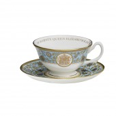 Royal Scot Fine Bone China Teacup and Saucer (26154)