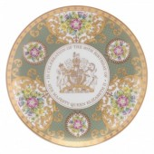 Royal Worcester Celebration Coupe Plate (26234)