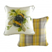 Evans Lichfield Bumble Bee Cushion (26356)