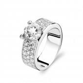 Silver Collection Solitaire Ring (26416)