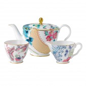 Butterfly Bloom Teapot, Sugar Bowl and Cream Jug (26534)