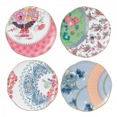 Butterfly Bloom Set of 4 Plates - 20cm (26537)