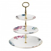 Butterfly Bloom 3 Tier Cake Stand (26539)
