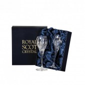 Royal Scot Pair of Port / Sherry Glasses (Presentation Boxed) (26659)