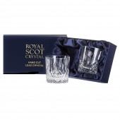 Scottish Thistle Pair of Large Tumblers (Presentation Boxed) (26665)