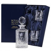 Whiskey Decanter and Tumblers Set (Presentation Boxed) (26669)