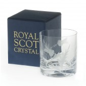 Flower of Scotland Large Old Fashioned Tumbler (26689)