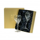 Belgravia Clear Pair of Small Wine Glasses (26692)