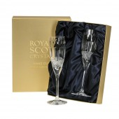 Belgravia Clear Pair of Champagne Flutes (26694)