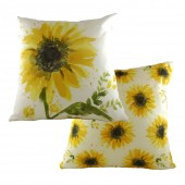 Evans Lichfield Sunflower Cushion Square (26701)