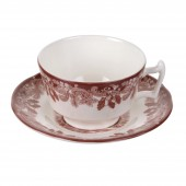Winter's Scenes Teacup & Saucer (26796)