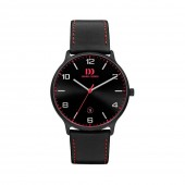 Danish Design Mens Black and Red Titanium Watch Q24Q1127 (26820)