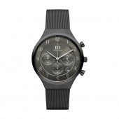 Danish Design Mens Grey Chronograph Mesh Strap Watch Q64Q1113 (26835)