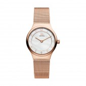 Danish Design Ladies Elegant Rose Plated Watch V67Q1072 (26837)