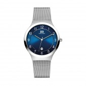 Danish Design Mens Blue Dial Steel Mesh Watch Q69Q1072 (26839)