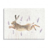Leaping Hare Canvas (27026)