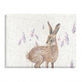 Standing Hare Canvas (27027)