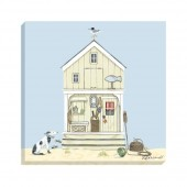 Beach Huts Canvas (27028)