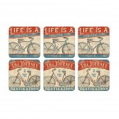 Beautiful Ride Coasters Set of 6 (27056)