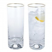 Gold Highball Tumblers - Set of 2 (27294)