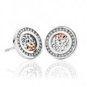 Royal Roses Circle Earrings (27329)