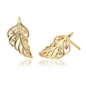 Debutante Feather Earrings (27354)