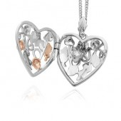 Oak Heart Locket (27383)