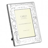 Sterling Silver Christening Rectangle Frame (27848)