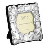 Sterling Silver Children's Square Frame (27851)
