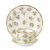 100 Years 1920 Spring Meadow Teacup, Saucer and Plate (27998)