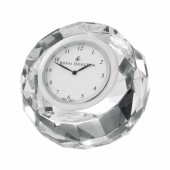 Radiance Faceted Round Clock (28030)